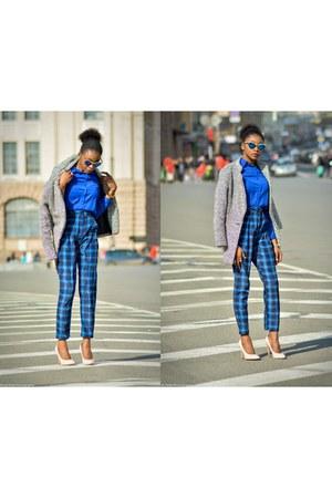 Sheinsidecom jacket - Freyrs sunglasses - choiescom pants - Choies top
