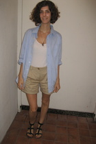 Gap top - Old Navy shorts - Jeffrey Campbell shoes