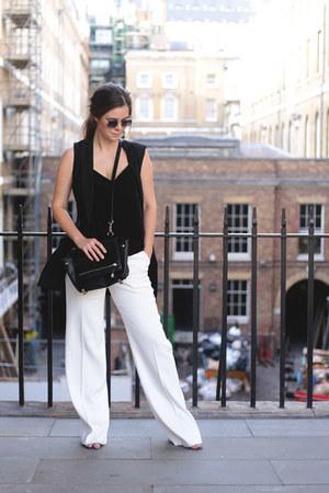 white Reiss pants