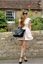 light pink Jones  Jones dress - black Bracher Emden bag