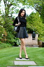 Black-boy-bag-chanel-bag-black-pleather-club-monaco-skirt