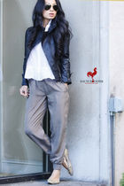 Club Monaco blouse - Club Monaco pants - Aritzia jacket - BCBG shoes