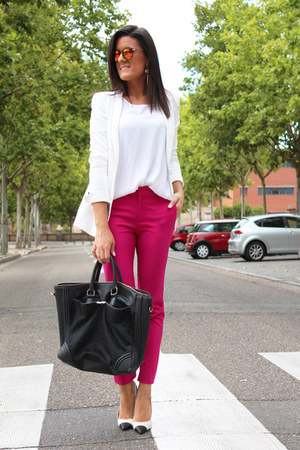 Zara blazer - Zara pants - MMComplementos accessories