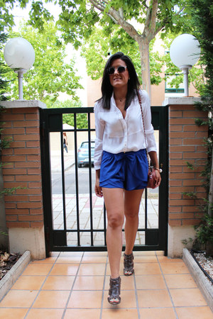 suiteblanco shirt - Sheinside shorts