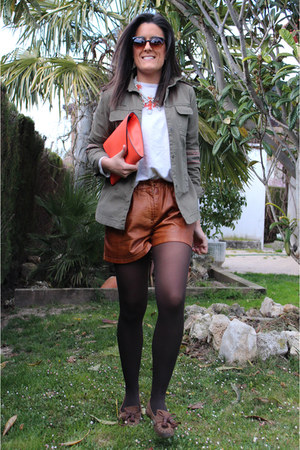 Zara jacket - Zara shorts - Zara necklace