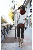 H&M jacket - H&M sweater - Uterque bag