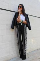 Zara jacket - Zara pants - Stradivarius blouse