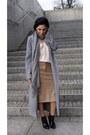 Black-patent-leather-zara-shoes-silver-sheinside-coat-beige-zara-sweater