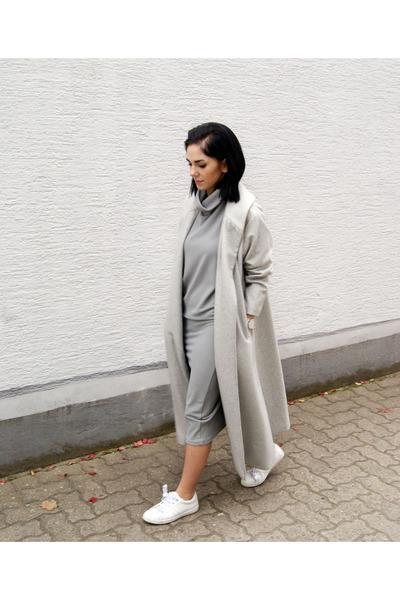 Silver-sheinside-dress-silver-sheinside-coat-silver-cluse-watch