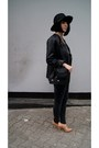 Black-zara-hat-black-leather-h-m-trend-jacket-black-mango-bag