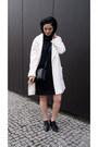 Black-reserved-shoes-black-mango-dress-white-mango-blazer