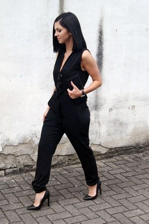 black Jaggar Footwear shoes - black Nakedvice wallet - black Art Dept jumper