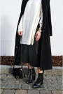 Black-sheinside-coat-white-zara-sweater-black-jessica-buurman-bag