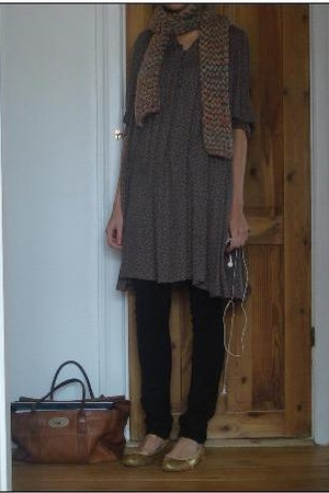 H&M dress - april 77 pants - Repetto shoes - Mulberry purse