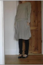 Marni dress - april 77 pants - Zara shoes