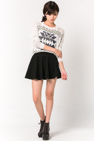 tribal print mexy shop sweater