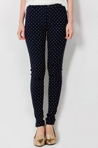 Polka Dot Denim Jegging S-XL