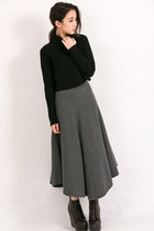 cotton mexy shop skirt - knitted mexy shop jumper