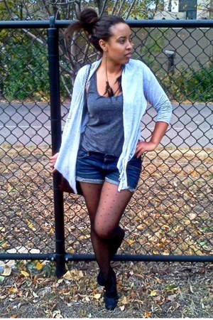 jean abercrombie and fitch shorts - Steve Madden boots