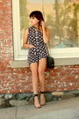 Black-blu-button-romper-gold-loveit-earrings-ivory-jeffrey-campbell-heels