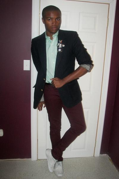 Nino Cerruti blazer - Ralph Lauren shirt - H&M pants