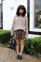 pink Nordstroms sweater
