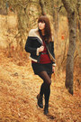 Black-collection-b-jacket-ruby-red-forever-21-sweater