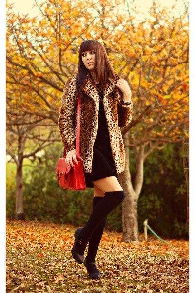 leopard coat coat