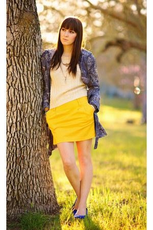 puce raincoat collection b coat - cream vintage sweater
