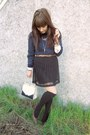 Navy-fox-sweaters-sweater-black-target-socks-dark-brown-belt-black-pleats-