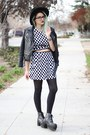 Pinkbasis-dress-faux-leather-oasap-but-similiar-in-link-jacket