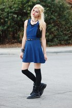 Dr Martens boots - Shy Wilder dress