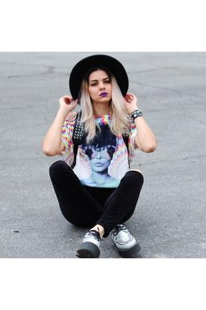 velvet style moi leggings - tie dye graphic style moi shirt
