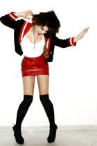 Moschino jacket - Moschino skirt