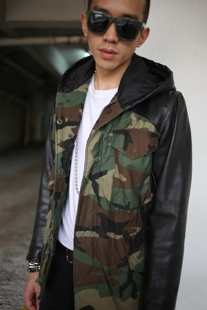 leather look First Edition jacket