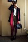 Navy-vintage-blazer-olive-green-vintage-shorts-white-vintage1-blouse