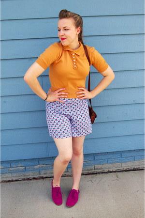 sky blue vintage shorts
