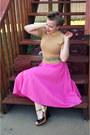 Bubble-gum-vintage-skirt