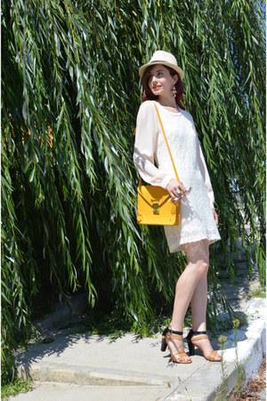JollyChic dress - kurtmann bag - milanoo sandals