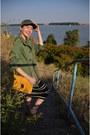 Stripes-river-island-dress-yellow-kurtmann-bag