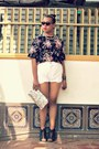 Parisian-shoes-diy-bag-levis-shorts-kate-spade-top