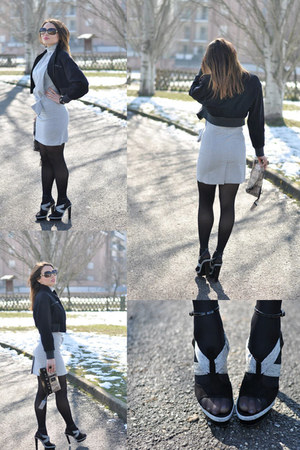 balenciaga shoes - Guess dress - Gucci sunglasses
