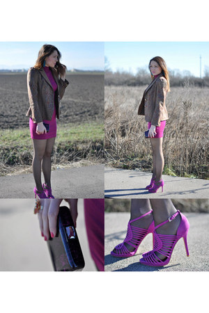 roberto cavalli blazer - purple Guess dress