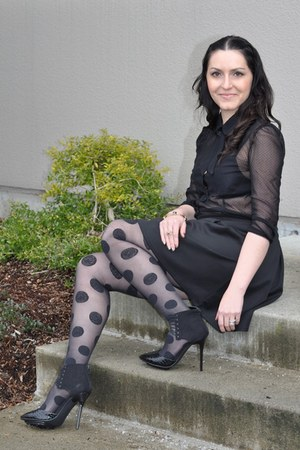 dots falke tights
