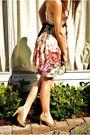 Beige-zara-dress-roberto-vianni-shoes