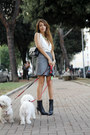 Ninalilou-boots-atos-lombardini-dress-chanel-bag