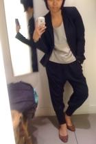blazer - pants - - - shoes