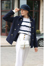 Navy-sterkowski-hat-navy-stylewe-jacket-white-valentino-bag