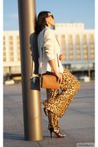 tawny Michael Kors bag - tawny Newchic pants