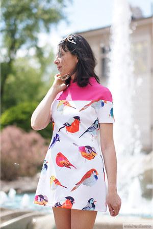 hot pink Newchic dress